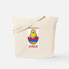 Armenian Chick Tote Bag
