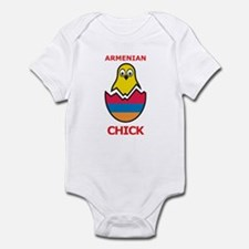 Armenian Chick Infant Bodysuit