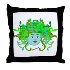 Medusa Molly Throw Pillow