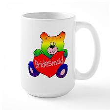 Bridesmaid Rainbow Bear Mug