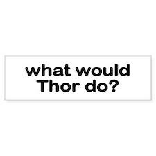 Thor Bumper Bumper Sticker