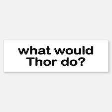 Thor Bumper Car Car Sticker