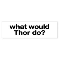 Thor Bumper Car Sticker