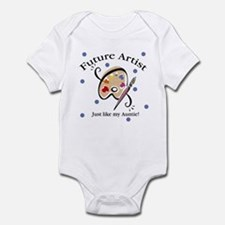 Future Artist Like Auntie Baby Infant Bodysuit