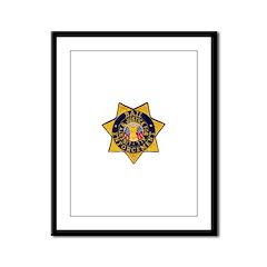 Bail Enforcement Framed Panel Print
