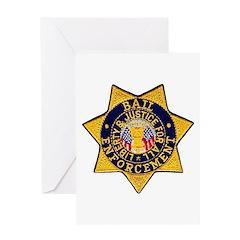 Bail Enforcement Greeting Card