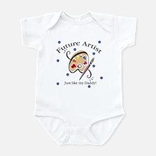Future Artist Like Daddy Baby Infant Bodysuit