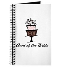 Aunt of the Bride Pink Cake Journal