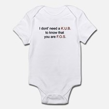 KUB Infant Bodysuit