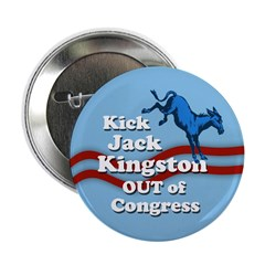 Kick Jack Kingston Out of Congress button