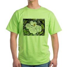 Magnolia tree flower art wate T-Shirt