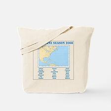 Hurricane Season 2008 Tote Bag
