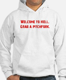 Welcome to Hell Jumper Hoody