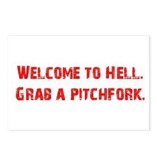Welcome to Hell Postcards (Package of 8)