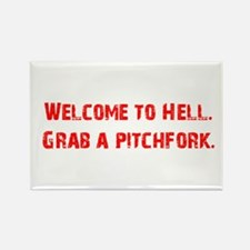 Welcome to Hell Rectangle Magnet