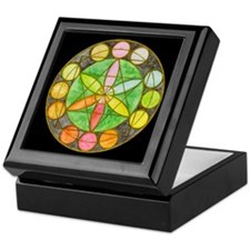Cute Mandalas Keepsake Box