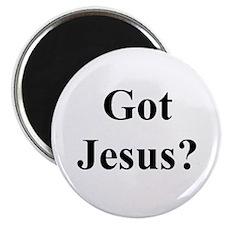 """Got Jesus ? 2.25"""" Magnet (10 pack)"""