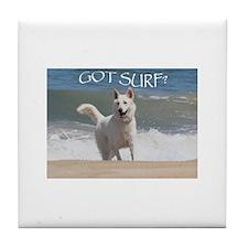 Surf Rider Tile Coaster