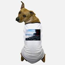 Get Lost! Black Beach Dog T-Shirt
