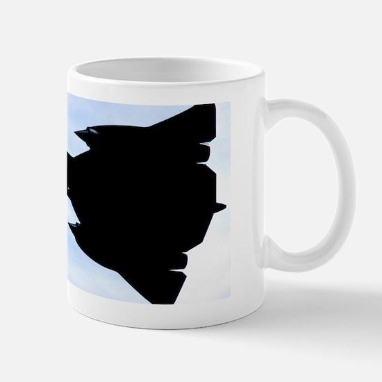 SR-71 Blackbird Silhouette Mug