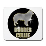 Bling Border Collie Mousepad