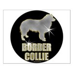 Bling Border Collie Small Poster