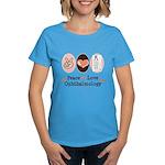Peace Love Ophthalmology Women's Dark T-Shirt