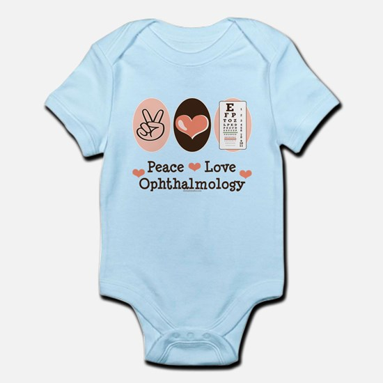 Peace Love Ophthalmology Infant Bodysuit