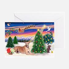 TakeOff-Greyhound (f2) Greeting Card