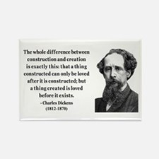 Charles Dickens 21 Rectangle Magnet