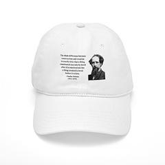 Charles Dickens 21 Baseball Cap