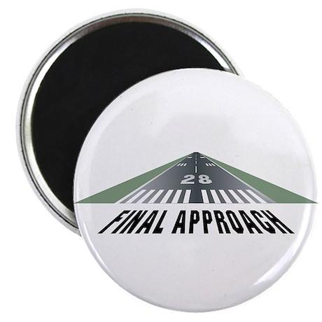 Aviation Final Approach Magnet