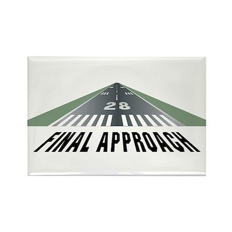 Aviation Final Approach Rectangle Magnet