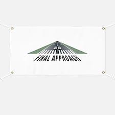Aviation Final Approach Banner