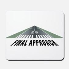 Aviation Final Approach Mousepad