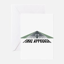Aviation Final Approach Greeting Cards (Pk of 20)