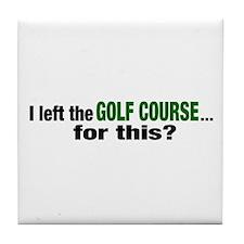 Golf Course Tile Coaster