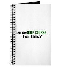 Golf Course Journal