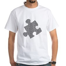 Houdini Puzzle Standard T-Shirt, Gray Design