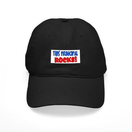 This principal ROCKS Black Cap