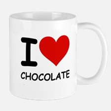 I LOVE CHOCOLATE Mug