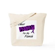 I Wear Purple For My Fiancé 8 Tote Bag