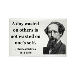 Charles Dickens 20 Rectangle Magnet (10 pack)
