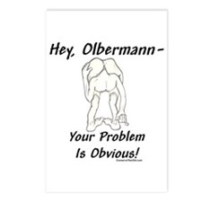"""Keith Olberman Problem"" Postcards (Pack"
