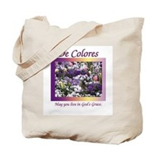 Flower Bed of De Colores Grac Tote Bag