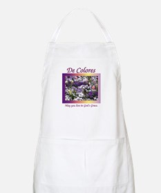 Flower Bed of De Colores Grac BBQ Apron