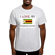 I Love My Zimbabwean Grandpa T-Shirt