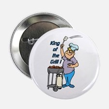 """King of the Grill 2.25"""" Button (10 pack)"""