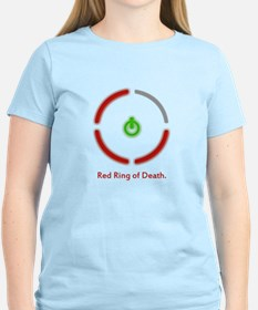Red Ring of Death Women's Tee
