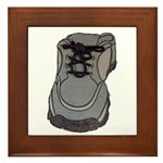 tennis shoe Framed Tile